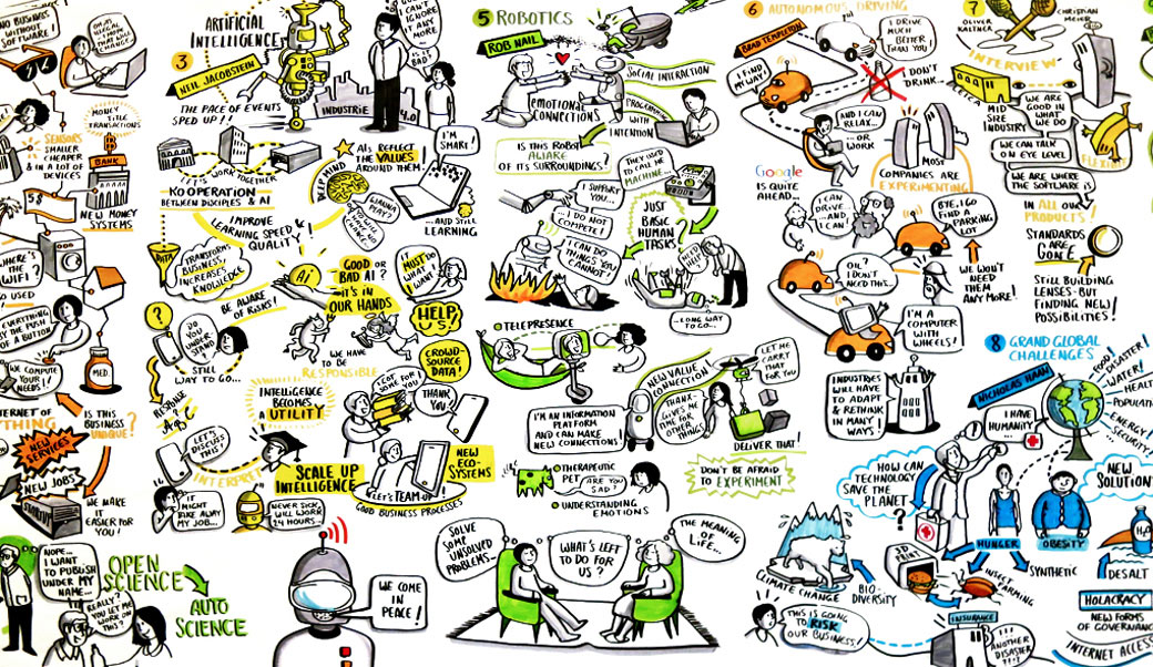 SingularityU Summit Scribe Graphic Recording Heinzel