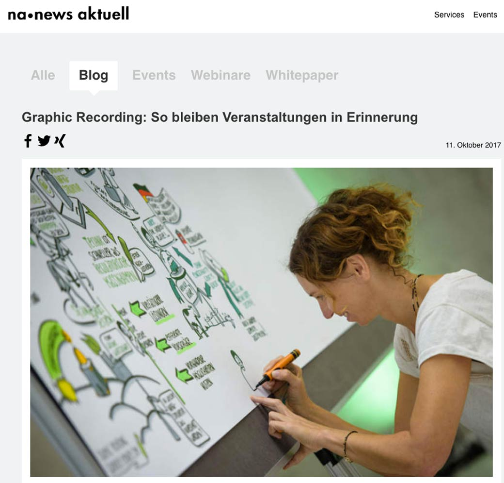 Interview Gabriele Heinzel Visual Recording