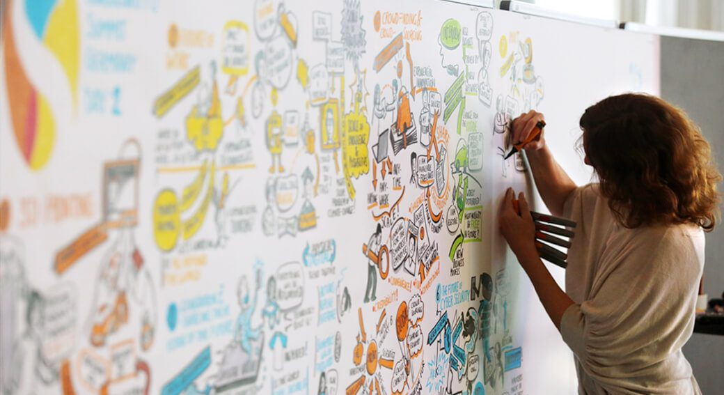 SingularityU Summit Graphic Graphical Recording Heinzel