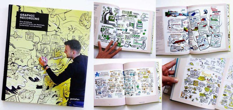 Buch Graphic Recording gestaltenverlag Gabriele Heinzel