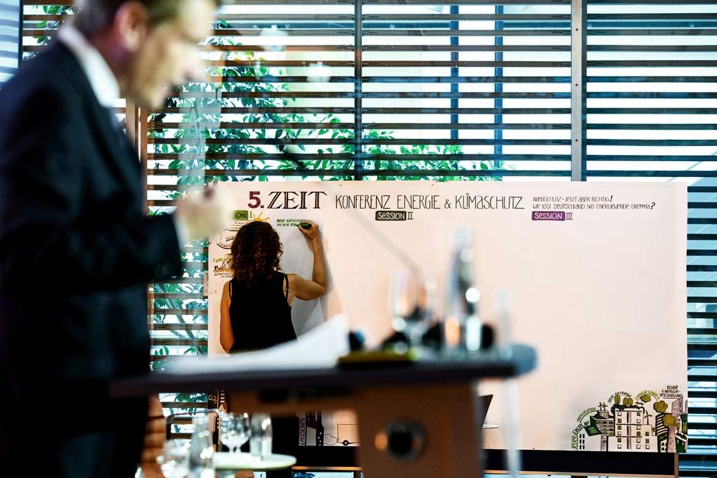 ZEIT Konferenz 2018 Graphic Recording Gabriele Heinzel