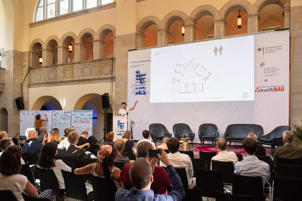 Fachsymposium Wohnungsbau Graphic Recording Gabriele Heinzel