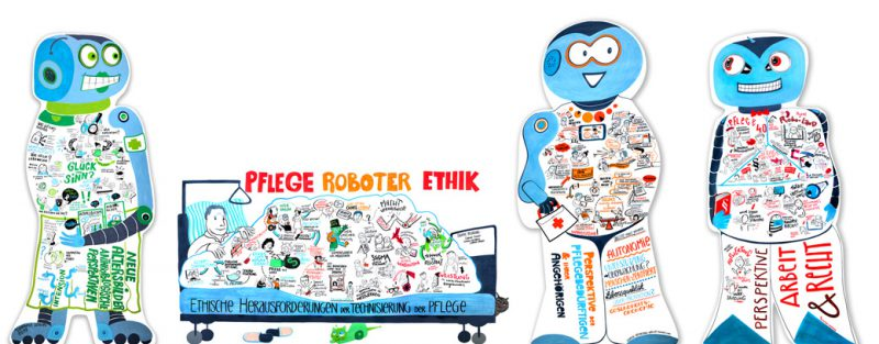 Cutout Robotics Gabriele Heinzel Graphic Recording